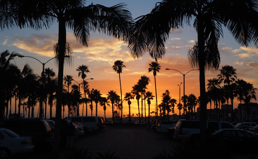 Sunsets in California