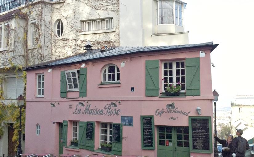 La Maison Rose – Montmatre,Paris