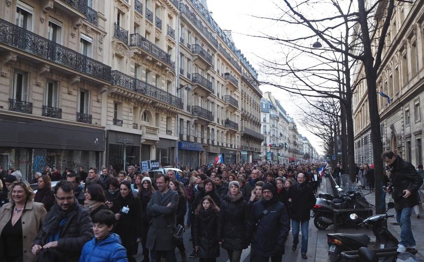 Marche Republicaine Paris – Je suisCharlie